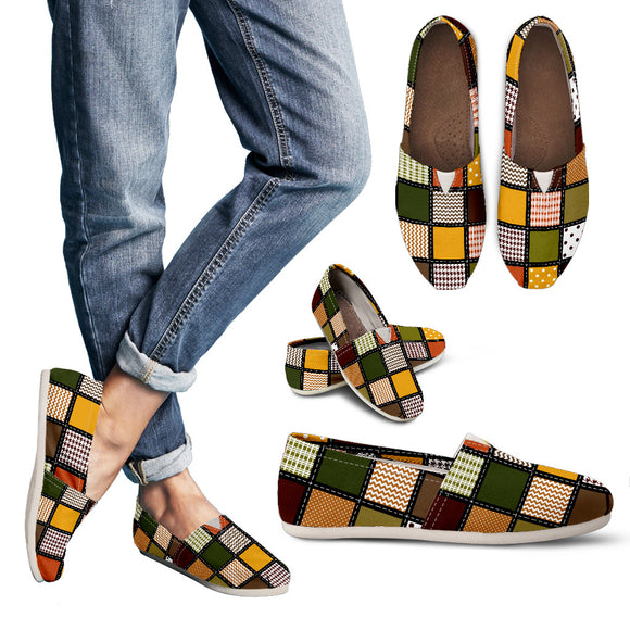 Fall Patchwork Women's Casual Shoes