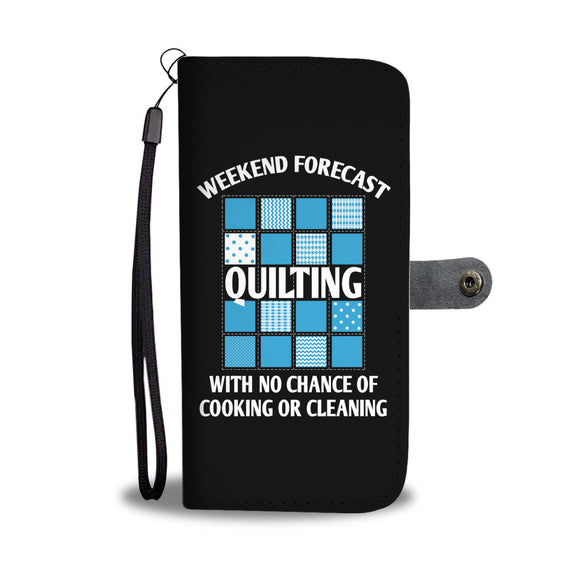 Weekend Forecast: Quilting - Wallet Phone Case