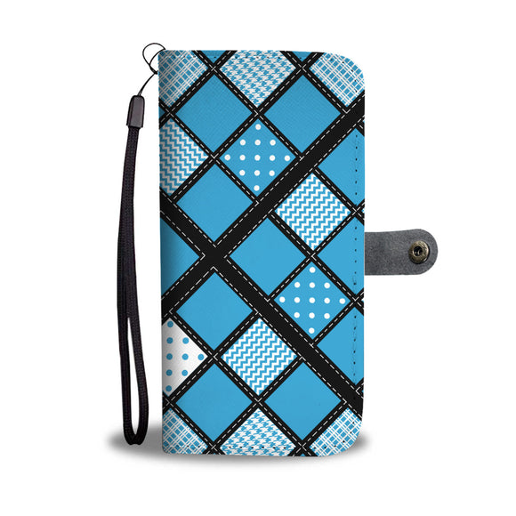 Patchwork Quilt - Wallet Phone Case