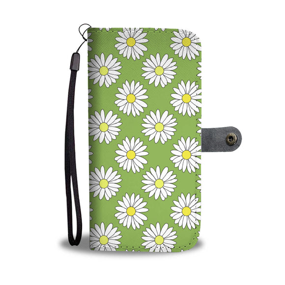 Daisy Field Wallet Phone Case