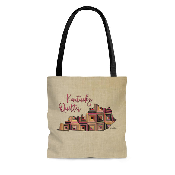 Kentucky Quilter Cloth Tote Bag