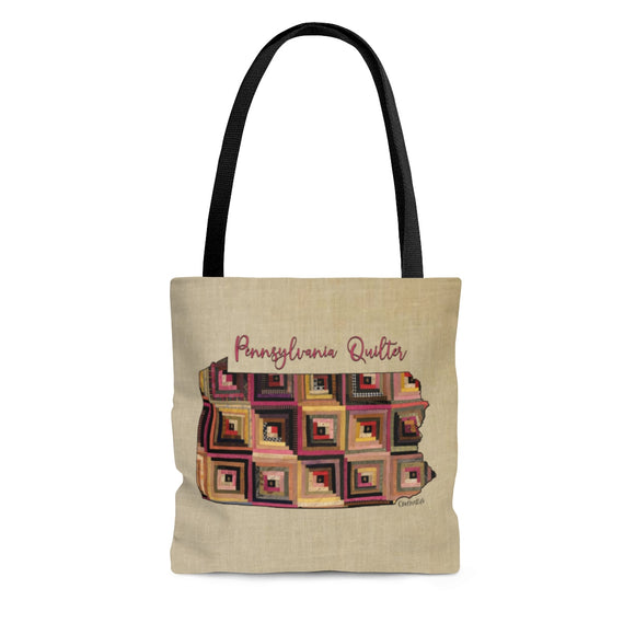 Pennsylvania Quilter Cloth Tote Bag