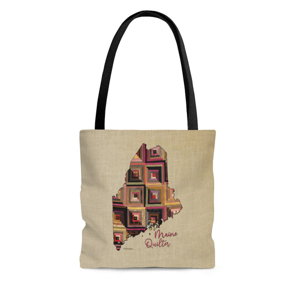 Maine Quilter Cloth Tote Bag