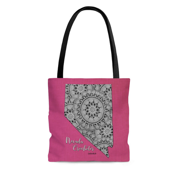 Nevada Crocheter Cloth Tote Bag