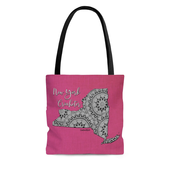 New York Crocheter Cloth Tote Bag
