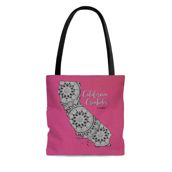 California Crocheter Cloth Tote Bag