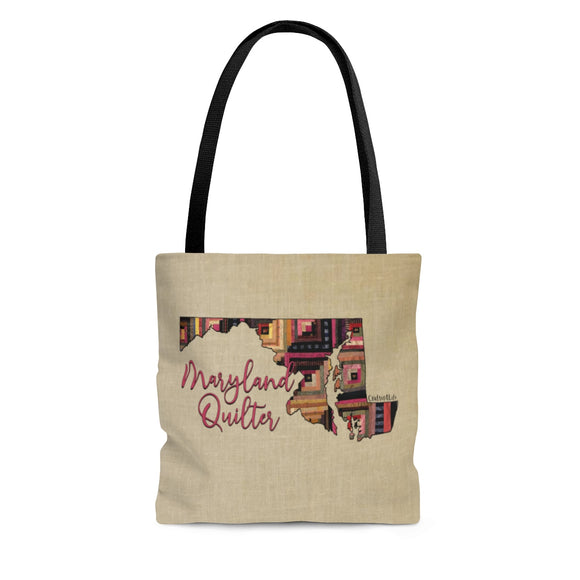 Maryland Quilter Cloth Tote Bag
