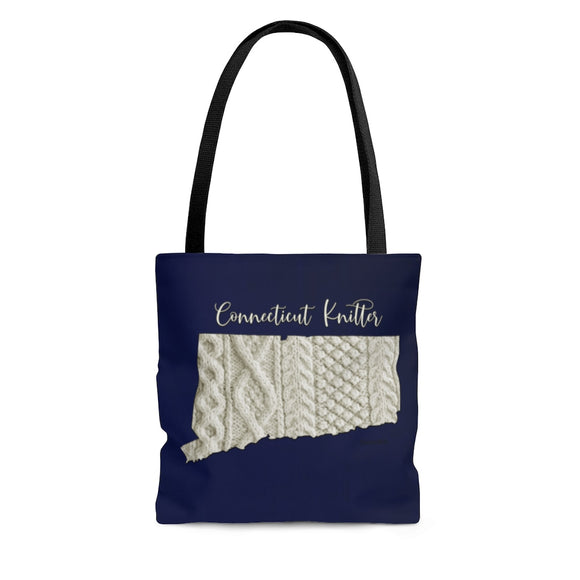 Connecticut Knitter Cloth Tote Bag