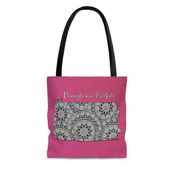 Pennsylvania Crocheter Cloth Tote Bag