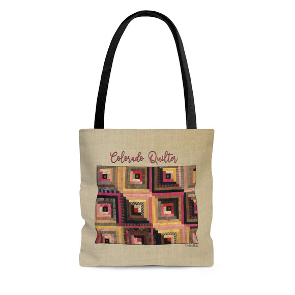Colorado Quilter Cloth Tote Bag
