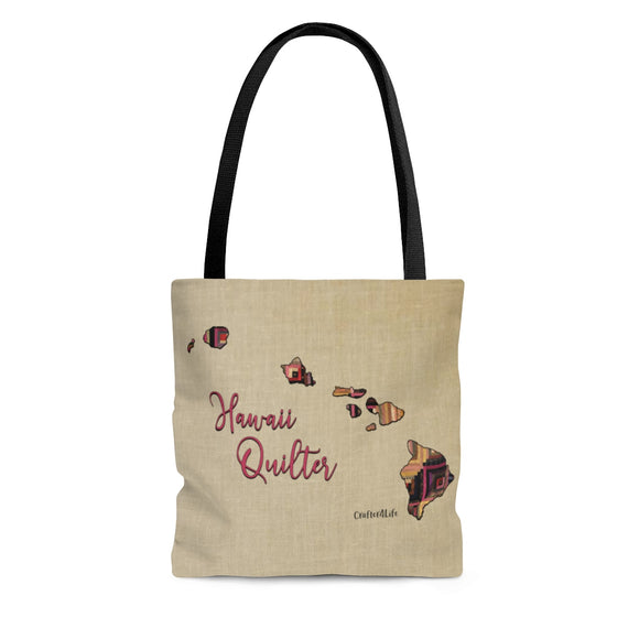 Hawaii Quilter Cloth Tote Bag