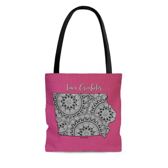 Iowa Crocheter Cloth Tote Bag