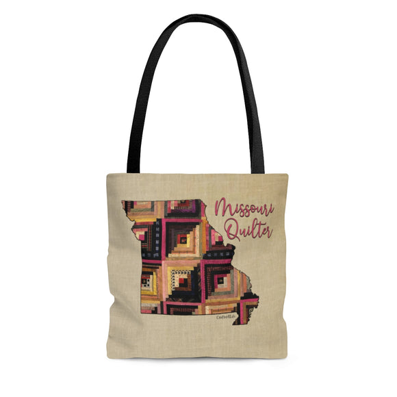 Missouri Quilter Cloth Tote Bag