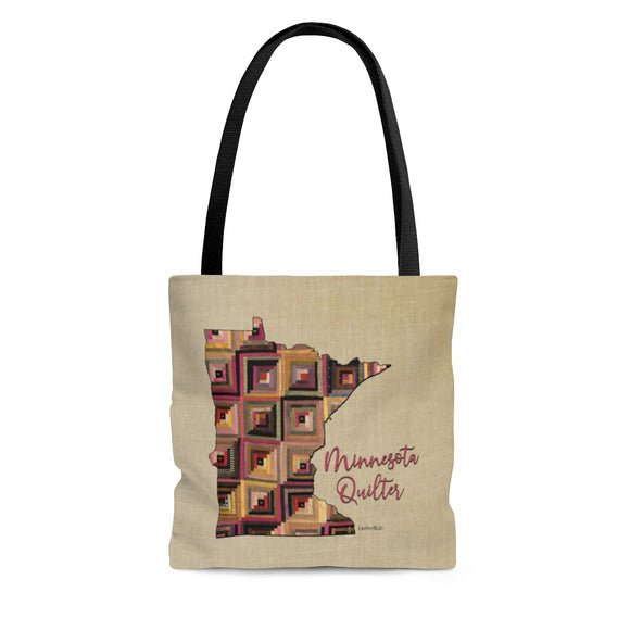 Minnesota Quilter Cloth Tote Bag