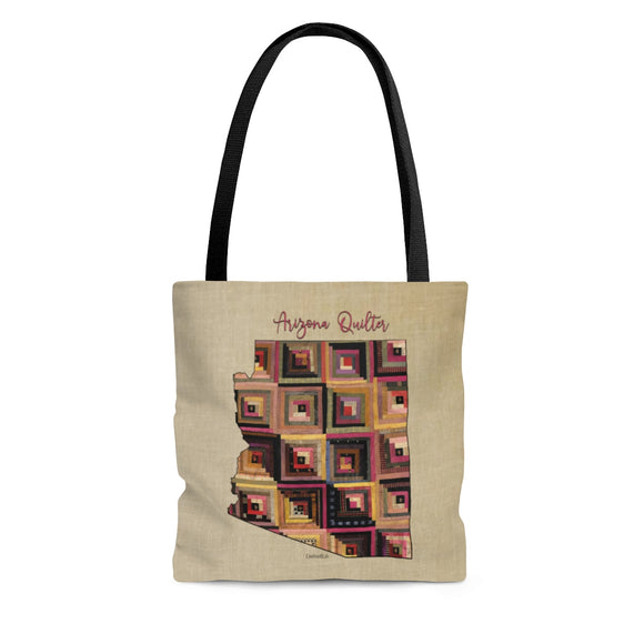Arizona Quilter Cloth Tote Bag