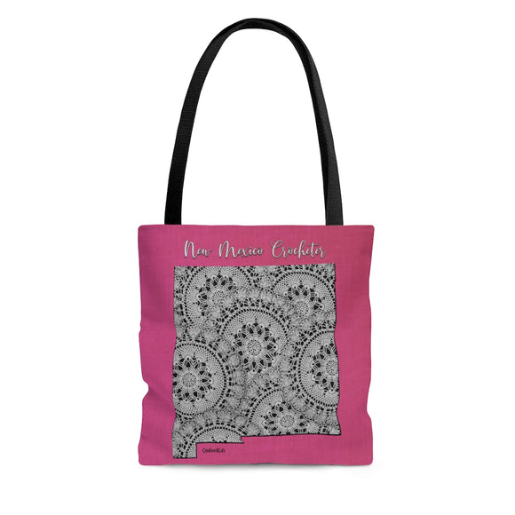 New Mexico Crocheter Cloth Tote Bag