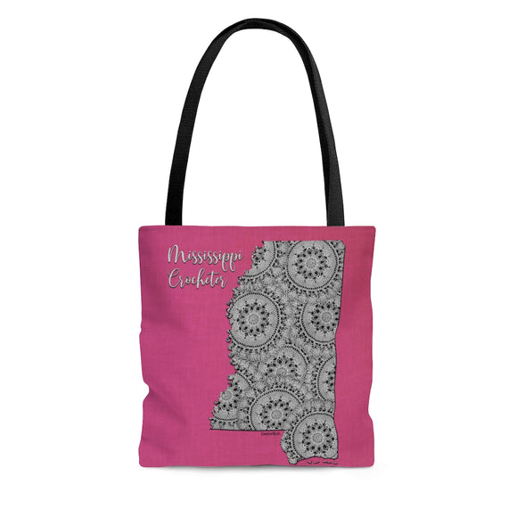 Mississippi Crocheter Cloth Tote Bag