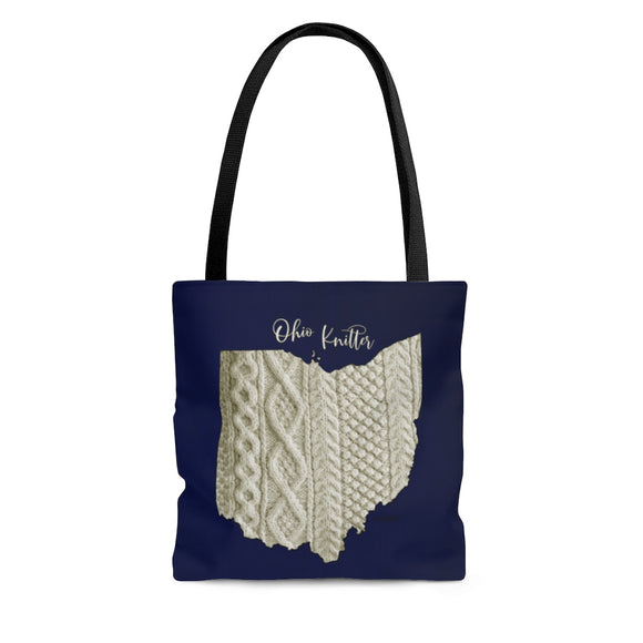 Ohio Knitter Cloth Tote Bag