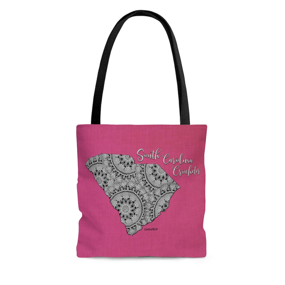 South Carolina Crocheter Cloth Tote Bag