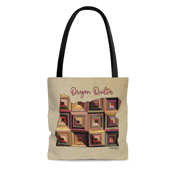 Oregon Quilter Cloth Tote Bag