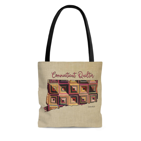 Connecticut Quilter Cloth Tote Bag