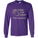 To Bead or Not To Bead Long Sleeve T-Shirt - Crafter4Life - 2