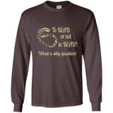 To Bead or Not To Bead Long Sleeve T-Shirt - Crafter4Life - 3