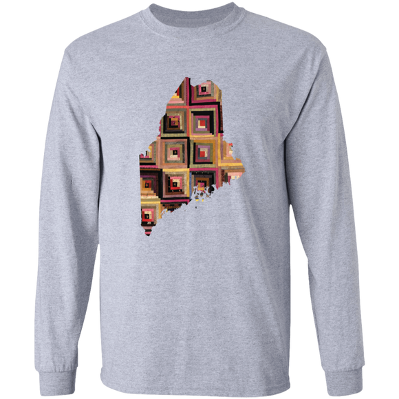 Maine Quilter LS Ultra Cotton T-Shirt