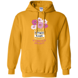 Happiness Blooms with Crafts Pullover Hoodie 8 oz - Crafter4Life - 3