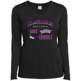 Good Day to Knit or Crochet Long Sleeve T-Shirts - Crafter4Life - 9