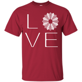 LOVE Quilting Custom Ultra Cotton T-Shirt - Crafter4Life - 5