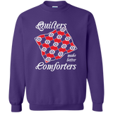 Quilters Make Better Comforters Crewneck Sweatshirts - Crafter4Life - 9