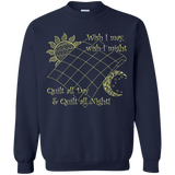 Wish I May Quilt Crewneck Sweatshirts - Crafter4Life - 3
