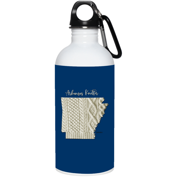 Arkansas Knitter Stainless Steel Water Bottle