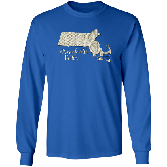 Massachusetts Knitter LS Ultra Cotton T-Shirt