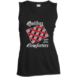 Quilters Make Better Comforters Ladies Sleeveless V-Neck - Crafter4Life - 2