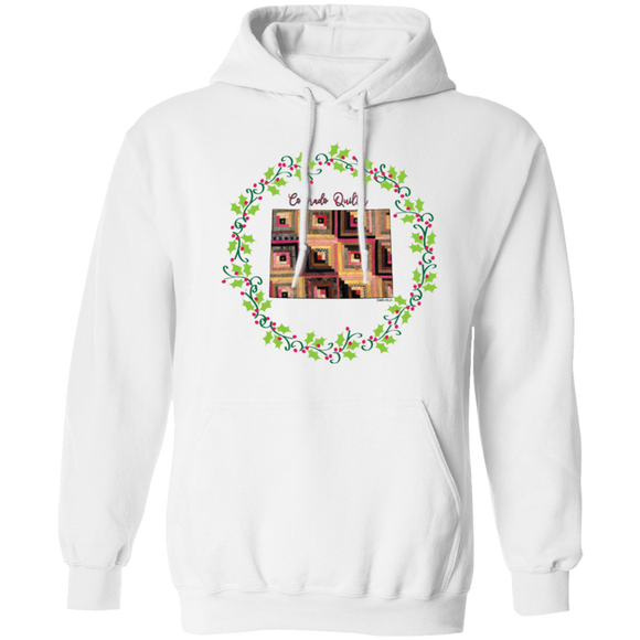 Colorado Quilter Christmas Pullover Hoodie