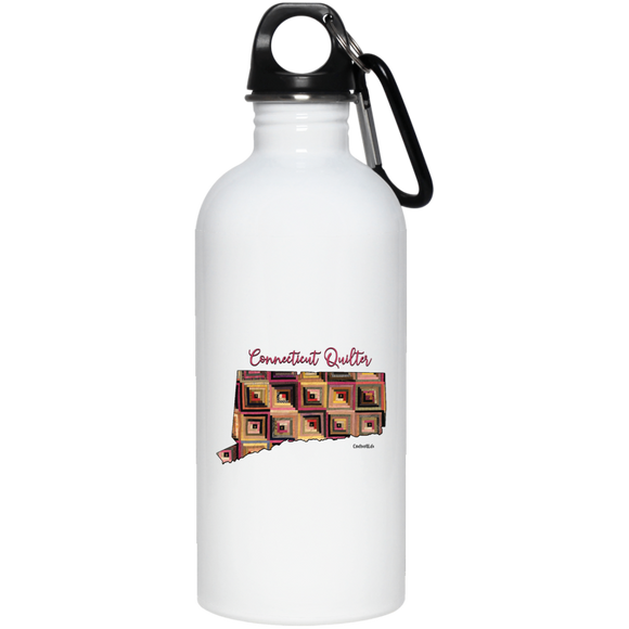 Connecticut Quilter Stainless Steel Water Bottle