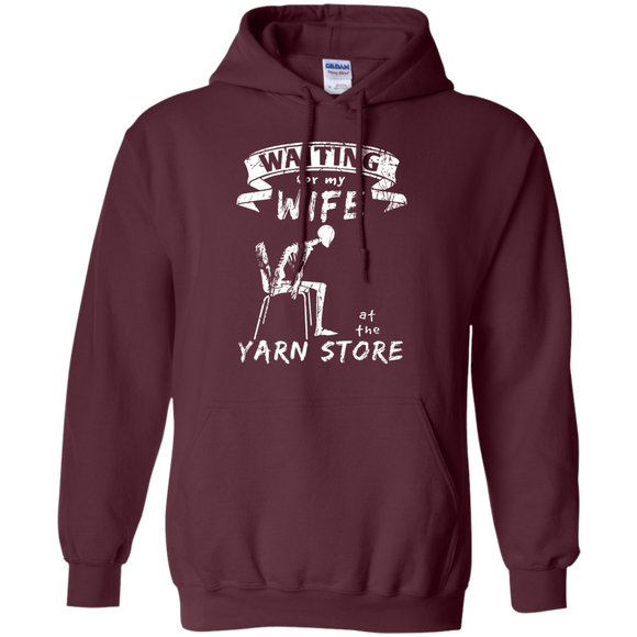 Waiting at the Yarn Store Hoodie - Crafter4Life - 1