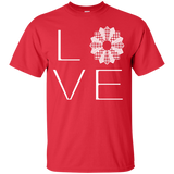 LOVE Quilting Custom Ultra Cotton T-Shirt - Crafter4Life - 9