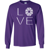LOVE Quilting LS Ultra Cotton T-shirt - Crafter4Life - 12