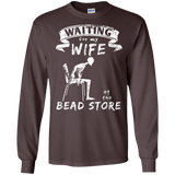 Waiting for my Wife at the Bead Store LS Ultra Cotton T-Shirt