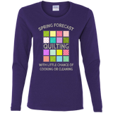 Spring Forecast:  Quilting Ladies Long Sleeve Shirts