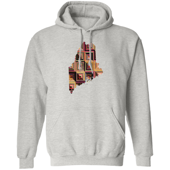 Maine Quilter Pullover Hoodie