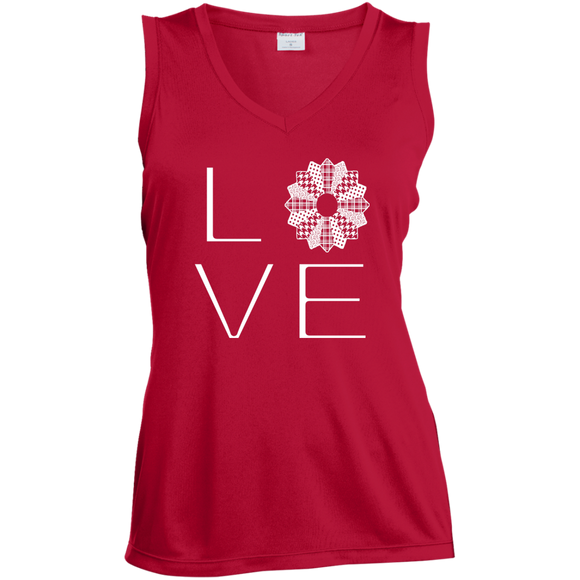 LOVE Quilting Ladies Sleeveless V-Neck - Crafter4Life - 1