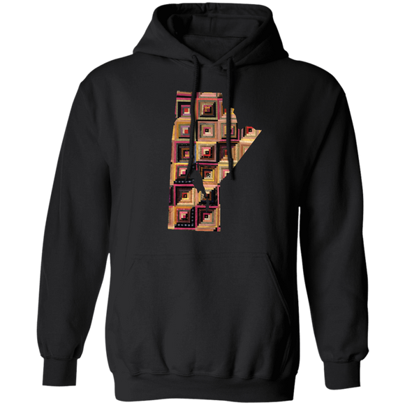 Manitoba Quilter Pullover Hoodie