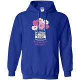 Happiness Blooms with Crafts Pullover Hoodie 8 oz - Crafter4Life - 9