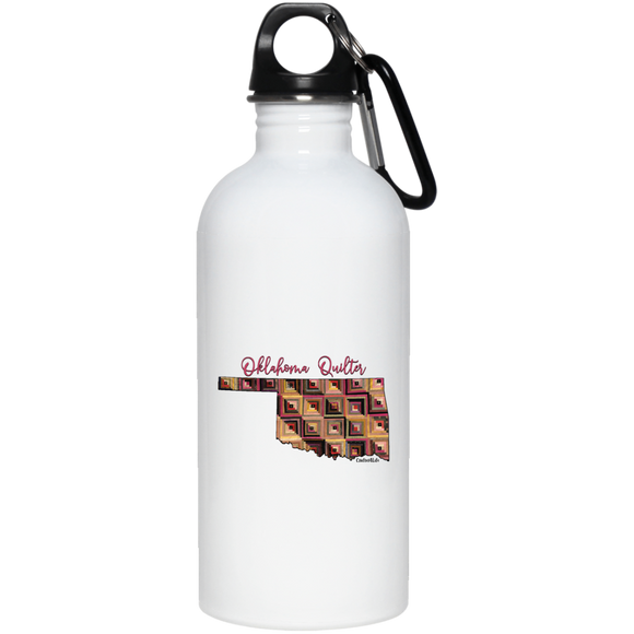 Oklahoma Quilter Stainless Steel Water Bottle