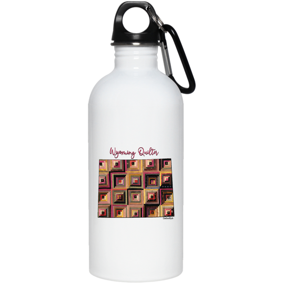 Wyoming Quilter Stainless Steel Water Bottle