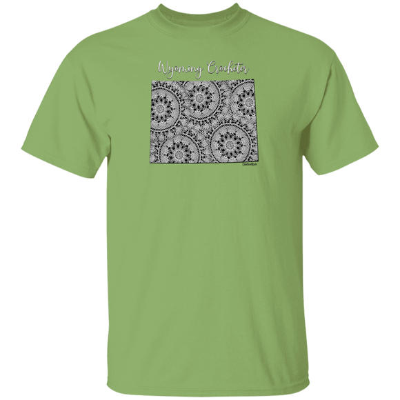 Wyoming Crocheter Cotton T-Shirt